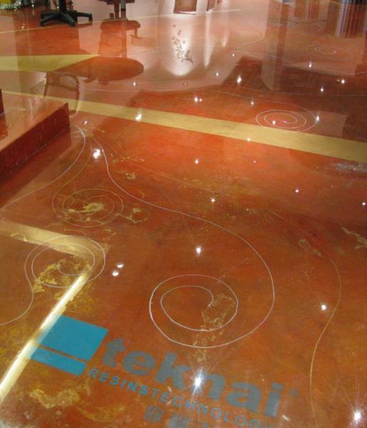 Applicatore qualificato pavimenti decorativi resina teknai - Pavimenti decorativi in resina ...